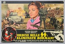 FOTOBUSTA 4, ORDINE DELLE SS: ELIMINATE BORMAN, BARDEM, PERCHY, GUERRA, NAZI