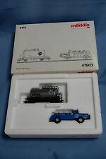 Marklin 47903 DB Tanker Car ARAL + Tanker Truck OVP