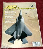 Air International Magazine 1991 February ATF,Poland,Air National Guard