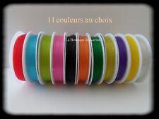 Carrete de Hilo Elástico 7M X 0,8mm Colores a Elegir - Creación Joyería Cuentas