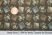 """PENNY ROSE"" REPRODUCTION COTTON QUILT FABRIC BTY FOR NEWCASTLE FABRICS 617-04"