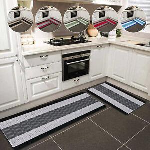 Non Slip Door Mats Small Large Hallway Runner Rug Bedroom Kitchen Floor Mat UK