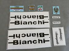 Kit adesivi compatibili Bianchi Rekord 746 old decal
