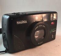 HALINA VISION AFS MINI 35mm FILM CAMERA COMPACT POINT & SHOOT VINTAGE- #p85