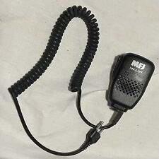 MFJ-295 Mic For Handheld Transceivers 2-pin working Used Condition W/ Belt Clip