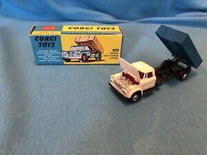 "Vintage Diecast Corgi Toys 483 Dodge ""Kew Fargo"" Tipper Near Mint w/ Original"