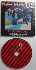 U2 VERTIGO VERSIONES ACUSTICAS CD Single CARDSLEEVE PROMO COLUMBIA