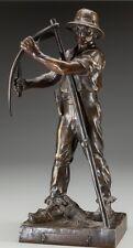 Henri Louis Levasseur (French, 1853-1934) Faucheur, circa 1910 Bronze Art Deco
