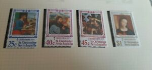 St. Kitts Nevis Anguilla 1975 Christmas Stamps