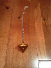 Yugioh Pyramid Necklace & Pouch New Rare Official Limited Rare Cosplay Yugi