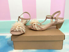 Authentic Axes Femme dusty pink sandals L ~ UK 6 ~ 39 ~ larme gyaru lolita shoes