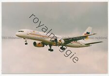 Colour print of Flying Colours Boeing 757 28A C-FOOE at Newcastle in 1998