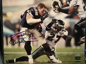 Jason Witten Autographed/Signed Dallas Cowboys Photo 8x10