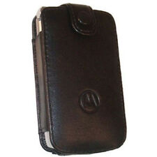 Motorola Black Leather Pouch Case w Belt Clip for RAZR V3m V3i V3s V3t V3r VE465