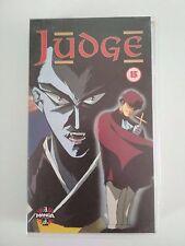 Judge 1993 Anime Manga VHS Excellent Condition Cert 15 English Language