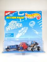 Hot Wheels Action Pack Home Improvement 2 Car Pack with Figures NEW NIB