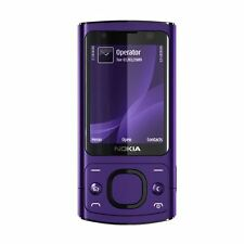Nokia 6700 Slide 3G Video Calling 5MP Unlocked Phone - Warranty - Purple