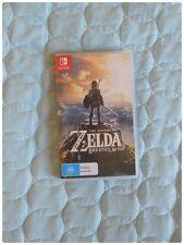 Legend of Zelda Breath of the Wild Switch Game