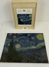 ARTIFACT Wooden Jigsaw Puzzle STARRY NIGHT Van Gogh 336 Pieces Whimsy