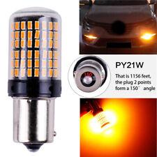 Turn Signal Light PY21W 5009 Canbus White LED Bulb Amber Blinker BAU15S 7507