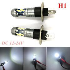 2x H1 160W LED Fog Light Bulb Car Driving Lamp DRL 7000K White 7020 Double Core