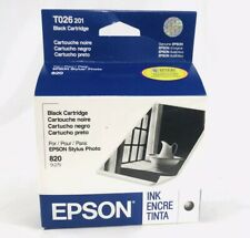 EPSON T026201 BLACK INK CARTRIDGE FOR STYLUS PHOTO 820, 925 NEW IN BOX Exp 9/06