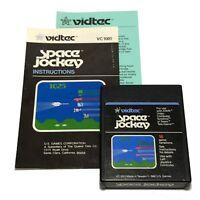 Vidtec Space Jockey Atari 2600 Video Game Cartridge 1982 Vintage Tested
