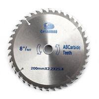 10 Inch Carbide Circular Saw Blade Cutting Disc 40-120Teeth For Aluminum Cutting