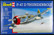 P-47 D Thunderbolt Revell 1:72 Scale Model Kit NIB Aircraft WWII Airplane 04124