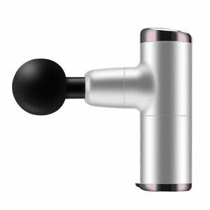 4 Head Mini Massage Gun Massager Muscle Vibrating Relaxing Tissue Percussion USB