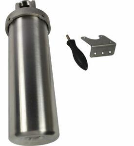 "3/4"" NPT 10""  Filter Housing for cartridges High Pressure Shell Stainless Steel"