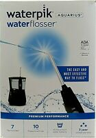 WATERPIK Aquarius Professional Water Flosser ~ Black WP-662C ~ No Tips   *L6