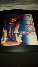 Tiffany Could've Been Rare Original Promo Poster Ad Framed!