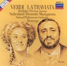 , Verdi - La Traviata / Sutherland · Pavarotti · Bonynge [highlights], Excellent