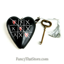 Valentine's | Tic Tac Toe Art Heart by Margaret Berg for Demdaco | NIP | Mint