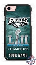 Philadelphia Eagles Champion 2018 Phone Case Cover Fits iPhone Samsung Name