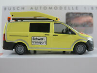 Busch 51139 MB Vito Schwertransport-Begleitfahrzeug (2014) 1:87/H0 NEU/OVP