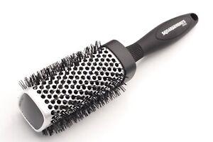 Denman Squargonomics 43mm Round Brush - Silver
