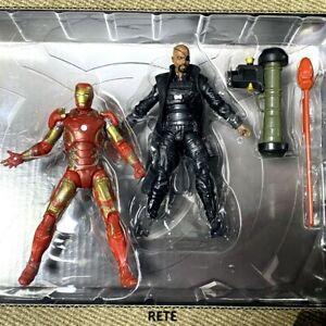 Marvel Universe Avengers Age Of Ultron Iron Man & Nick Fury 3.75'' Figures Toys