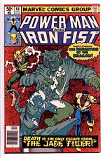 Marvel Power Man Iron Fist #66 Comic 2nd Sabertooth Appearance Frank Miller VF
