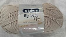 Patons Big Baby 4 Ply #2563 Stone 100g