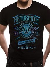 Official T Shirt AEROSMITH- AERO FORCE ONE All Sizes Black Mens Licensed New