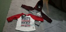 New Baby 0-3months Canadian Roots Hockey Outfit