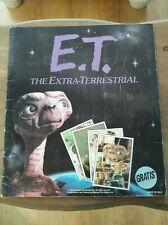 panini album complet E.T. l'extraterrestre
