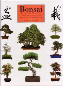 Bonsai Survival Manual A tree by tree guide BOOK Gardening HC Garden
