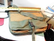 Portable Products Co Canvas Compartment Bag Organizer Carry-On Briefcase Satchel