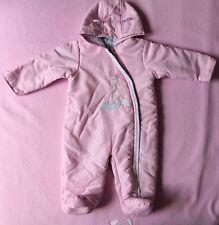 Disney Winnie the Pooh baby girl pink snowsuit size 6-9 months