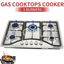 """30"""" 5 Burners Built-In Stove Top Gas Cooktop Kitchen Ng/Lpg Gas Cooking - Usa"""