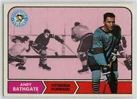 1968-69 Topps #104 Andy Bathgate EX-NM - SET BREAK (112219-21)