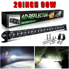 20inch 180W LED Work Light Bar Slim High Output Single Row Combo Beam Offroad